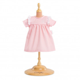 Robe Dragée rose - Mon grand poupon Corolle 36 cm