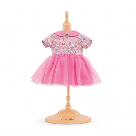 Robe rose myrtille - Mon grand poupon Corolle 36 cm