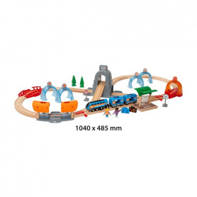Smart Tech Sound - Action Tunnel Travel Train Set
