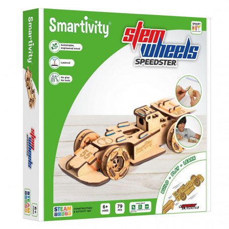 Smartivity - speedster with the sprint launcher