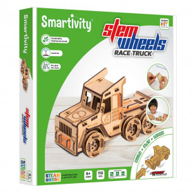 Smartivity - Race truck with sprint launcher