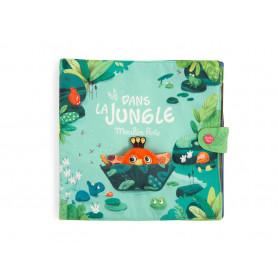 Grand livre tissu d'activités - Dans la jungle