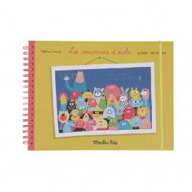 Album souvenirs d'école Français/Anglais (36 pages) Les Schmouks