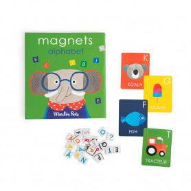 Jeu magnétique alphabet - Les Popipop