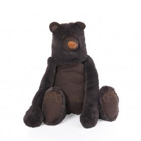 Peluche ours géant Mimosa - Rendez-vous chemin du loup