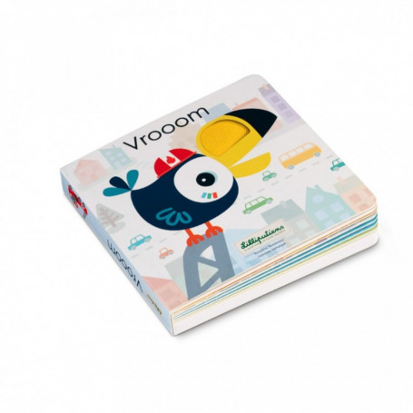 Vroooom - Livre sonore & tactile