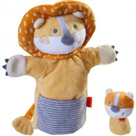 Marionnette Lion et son bébé - Haba