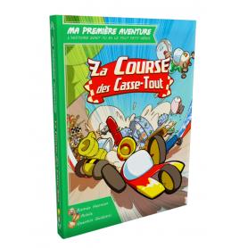 Game Book Ma Première Aventure : La course des casse-tout