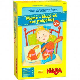Jeu mémo - Maxi et ses peluches