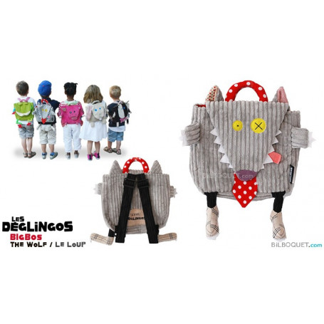 Les Deglingos Album Fotos Bigbos le loup//der Wolf