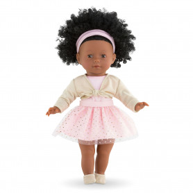 """Dance lesson set-gold & pink for ma Corolle doll 14"""""""
