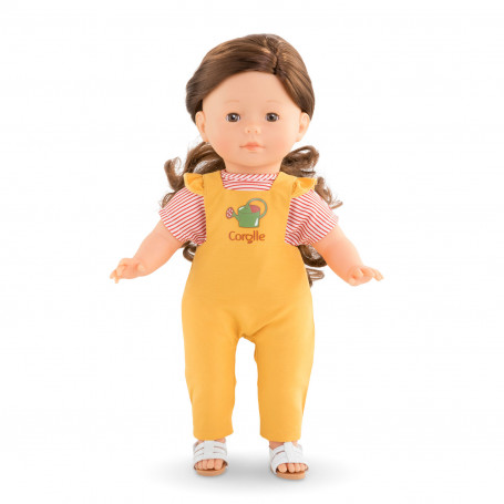 """Overall- Garden delights for ma Corolle doll 14"""""""