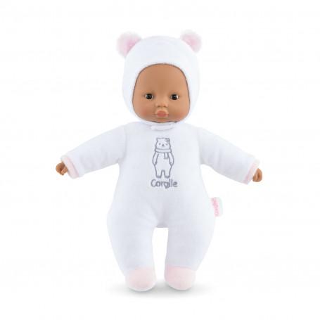 "Mon doudou Corolle - Sweet heart white bear 12"""