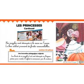 Puzzle d'art en bois Les princesses (Marie Cardouat)