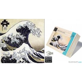 La Grande Vague de Kanagawa (Hokusai) Puzzle en bois pour adultes