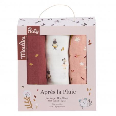 copy of Après la pluie - Anneau-hochet bois feuille de chêne