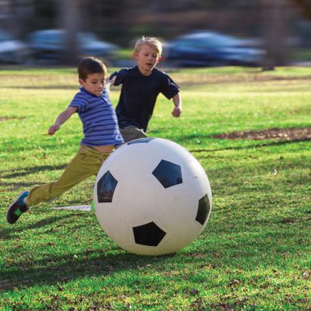 Ballon Football Geant - Slackers
