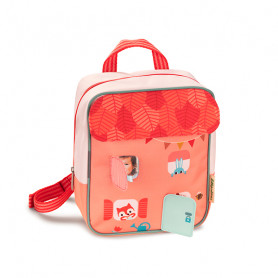 Forest house backpack