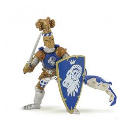 Chevalier Maître des armes cimier bélier - Figurine Papo