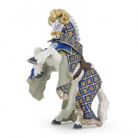 Blue weapon master ram horse - Papo Figurine
