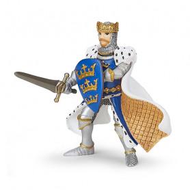Roi Arthur Bleu - Figurine Papo