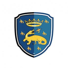 Foam Salamander Knight Shield - Papo