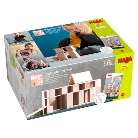 Construction 66 pièces Clever-up! 2.0 - Haba