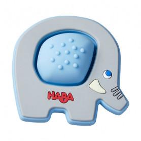 Hochet Silicone Éléphant Plop - Haba