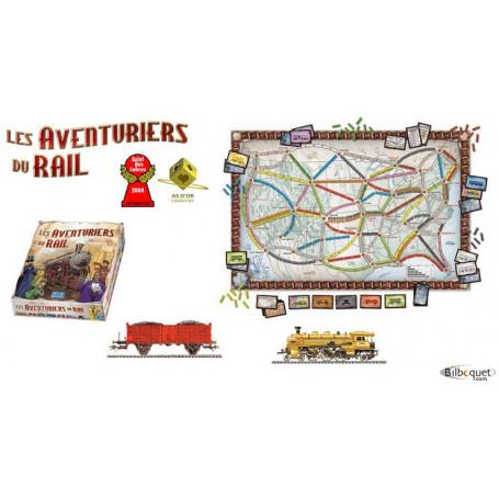 Les aventuriers du rail Etats-Unis