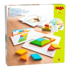 Jeu d'assemblage Formes Multicolores - Haba