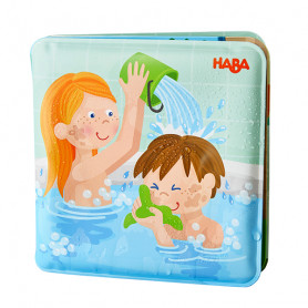 Bath book Wash Day for Paul & Pia - Haba