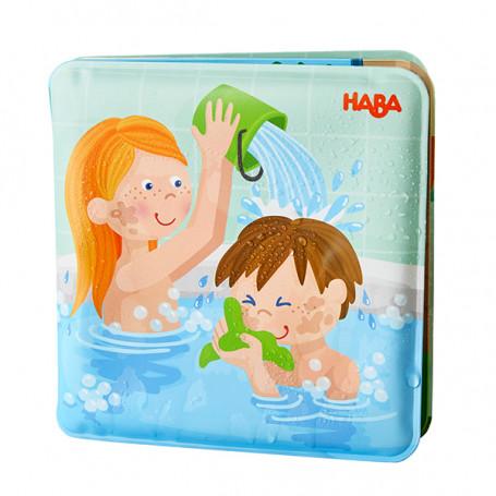 Livre de bain Journée de lessive chez Paul et Pia - Haba