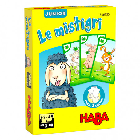 The Mistigri junior Sheep card game