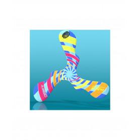 Boomerang en mousse Drift spirale colorée pour gaucher