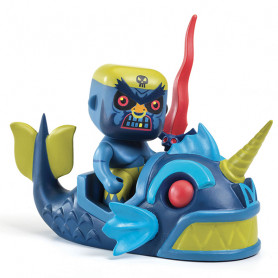 Pirate Terrible & Monster - Arty Toys Pirates