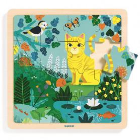 Puzzlo Lily - Puzzle en bois 16 pièces