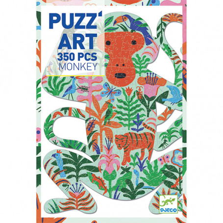 Puzz'Art Monkey - Puzzle 350 pièces