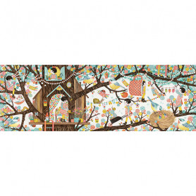 Tree house - Puzzle gallery 200 pièces