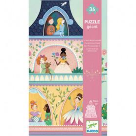 La tour des princesses - Puzzle Géant 36 pièces