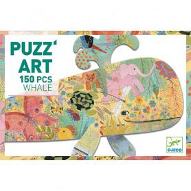 Puzz'Art Baleine - Puzzle 150 Pièces