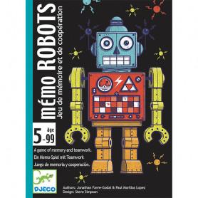 Card game - Memo Robots