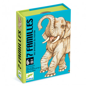 7 Families Card Game - Animals of the World