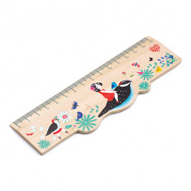 Chic wooden ruler