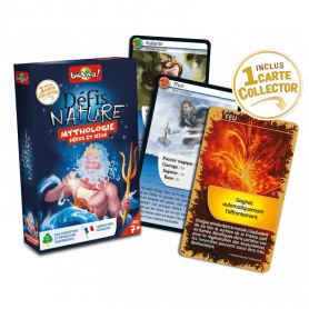 Mythology, Heroes and Gods - Nature Challenges - Card game