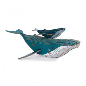 Build-it-Yourself 3D Cardboard Whale - In Partnership with WWF