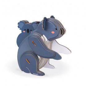 Puzzle 3D Koala - 42 pièces - Partenariat WWF