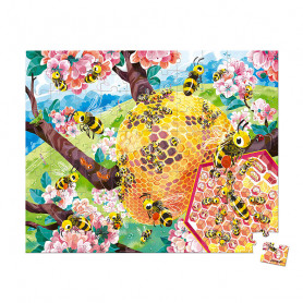 100 Piece Bee Life Puzzle - In Partnership with WWF