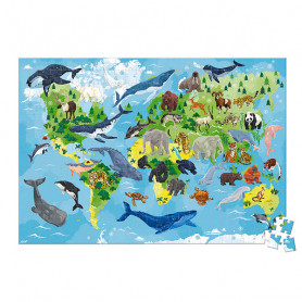 350 Piece Priority Species Educational Puzzle - In Partnership with WWF