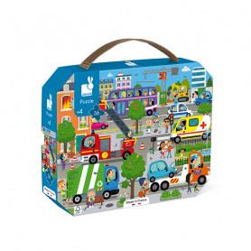Puzzle City - 36 pieces