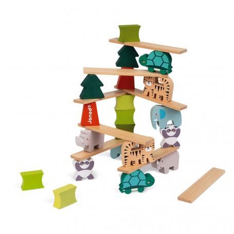 Wooden Balancing Animals Game - In Partnership with WWF